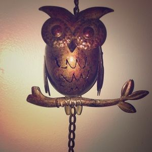 Owl 🦉 Bell 🔔 Metal Wind-chime 💨
